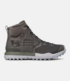 Men's UA Newell Ridge Mid GORE-TEX® Hiking Boots, NORI GREEN, zoomed image