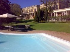 Pool and Lawns at the Fairlawns Boutique Hotel & Spa in Sandton. Quote and Book http://www.south-african-hotels.com/hotels/fairlawns-boutique-hotel-and-spa/