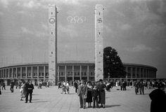 Estadio olímpico en las olimpiadas  Berlín 1936