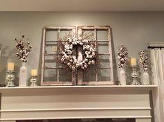 Magnolia Market cotton wreath- HGTV Fixer Upper