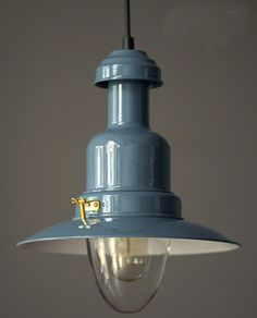 Vintage Light Fitting by BlueFinFurniture on Etsy