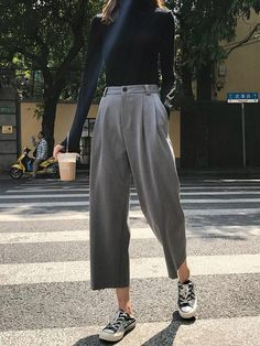 clothes for women,womens clothing,womens fashion,womans clothes outfits Mode Outfits, Korean Outfits, Casual Outfits, Fashion Outfits, Fashion Trends, Fashion Boots, Black Women Fashion, Womens Fashion, 50 Fashion