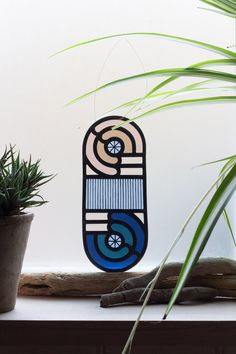Loop D'Loop Stained Glass by Flora Jamieson & Vicki Turner // Feist Forest