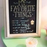 """We love this """"My Favorite Things"""" themed party for a girlfriend get together!"""