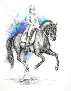 MZ - horse art: Galop
