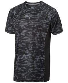 PUMA Puma Men'S Drycell Printed Performance T-Shirt. #puma #cloth # activewear