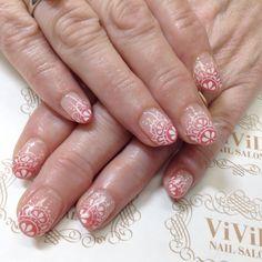 #vividnailsalonsydney #calgel #sydney #nail #nails #nailart #geldesign #art #nalisalon #gelnail #japanesenailart #ネイル #ジェルネイル #カルジェル #美甲 #指甲#race#racenail#pink#pinknail#handpaint