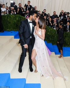 Fairy tale romance: Selena and her boyfriend The Weeknd continue to thrive in their relati...