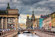 Church on Spilled Blood & Canal Griboedov -- St. Petersburg, Russia by lassi.kurkijarvi
