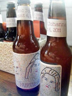 DIY Beer Labels and Carrying Case