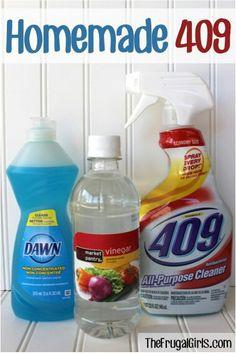 DIY all purpose cleaner