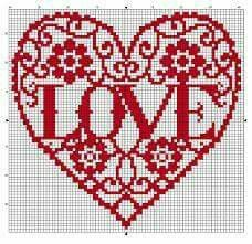 Free cross stitch heart pattern with just enough time to embroider before Valentine's Day. Visit: http://www.knitttingcrochet.com/cross-stitch-patterns-free-2.html/cross-stitch-patterns-free-171