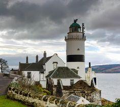 The Cloch Lighthouse near Gourock, Renfrewshire, Scotland.   Please see my other Photographs at: www.jamespdeans.co.uk