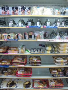 Bentou in aJapanese convenience store