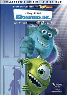 Monsters Inc. Its a good movie in 3D. Please check out my website thanks. www.photopix.co.nz
