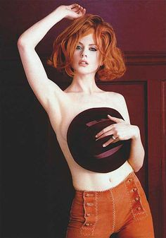 Nicole Kidman by Herb Ritts, Rolling Stone  July 1999