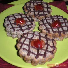 Mákvirágok - mákos, lekváros sütemény Waffles, Muffin, Cookies, Breakfast, Poppy, Desserts, Christmas, Food, Biscuits