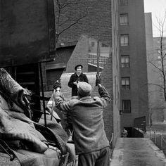 Vivian Maier, Selfportrait, February 3, 1955.