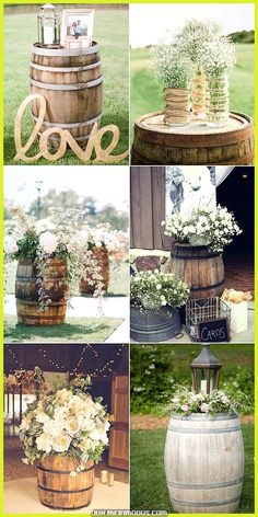 Outdoor country wedding ideas for summer fab country outdoor wedding ideas inspired by wine barrel . outdoor country wedding ideas for summer Rustic Country Wedding Decorations, Wedding Country, Outside Wedding Decorations, Rustic Wedding Centerpieces, Room Decorations, Ceremony Decorations, Country Decor, Country Chic Party, Marquee Decoration