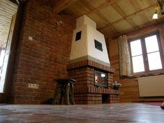Znalezione obrazy dla zapytania kominek z cegły