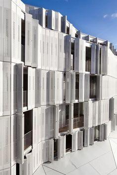 BP Architectures - M9-C social housing & mixed-use development, Paris 2012