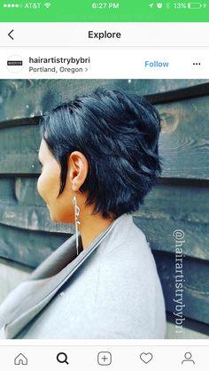 Hairstyles With Bangs .Hairstyles With Bangs Cute Hairstyles For Short Hair, Hairstyles With Bangs, Short Hair Cuts, Curly Hair Styles, Natural Hair Styles, Baddie Hairstyles, Hairstyles Videos, Simple Hairstyles, Short Pixie