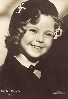 Shirley Temple - from Stand Up and Cheer, 1934.