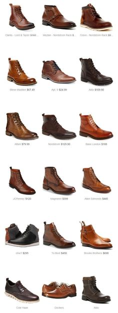 In my journey through online stores, I discovered 18 lovely pairs of boots., In my journey through online stores, I discovered 18 lovely pairs of boots. Each of these boots will give me a touch of elegance. Best Shoes For Men, Men S Shoes, Men Boots, Brown Boots Men, Mens Winter Boots, Men's Leather Boots, Aldo Shoes Mens, Cole Haan Mens Shoes, White Shoes Men