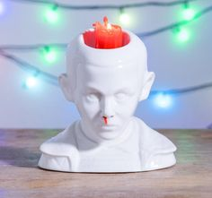 Bleeding Stranger Things Candle: Makes Eleven Bleed From Her Nose When It Melts