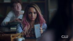 "Toni Topaz is a recurring character in the second season of Riverdale. She is portrayed by Vanessa Morgan. Toni is a student at Southside High, and a member of the Southside Serpents, who may cause trouble for Jughead and Betty's relationship. She will also act as Jughead's guide into the world of the serpents. After Jughead transferred to Southside High, he re-opened the school's newspaper, known as ""The Red and Black"" and recruited Toni as the school photographer. She ..."