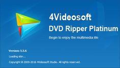 تحميل برنامج 4Videosoft DVD Ripper Platinum 5.5.8  Crack