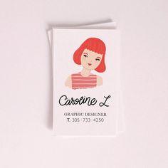 Caroline L. Business cards