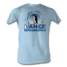 The Office T-Shirt - Vance Funny TV Show Adult Light Blue Tee Shirt