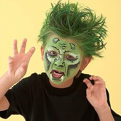 You don't need to be a professional makeup artist to transform your child into a clown, monster, pirate, or other character. Our easy-to-follow instructions and step-by-step photographs will guide you through the process!