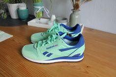 Wunderschöne Reebok Sneakers in Mint Glow #reebokclassic #runner #mintglow #sneaker