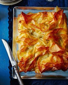 Think sausage roll, but bigger. Filo pastry is used to create a light, yet oh-so-satisfying pie that is perfect for entertaining or a comforting meal with friends.