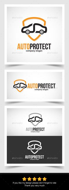 Auto Protect Infinity Logo — Vector EPS #unless #car • Available here → https://graphicriver.net/item/auto-protect-infinity-logo/13672785?ref=pxcr