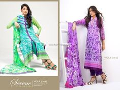Serene Lawn Collection 2013 by Sitara Textiles for Ladies 011