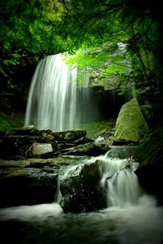 My favorite waterfall, Suter Falls in Tennessee