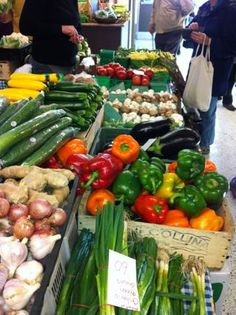 Guelph Farmers' Market is the place to be to get your fresh farm produce, meat and grains, every Saturday at 2 Gordon Street Guelph. Delicious Restaurant, Saturday Morning, Farmers Market, Stuffed Peppers, Fresh, Vegetables, Street, Food, Ontario