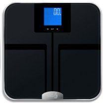 EatSmart Precision GetFit Digital Body Fat Scale w/ 400 lb. Capacity & Auto Recognition Technology