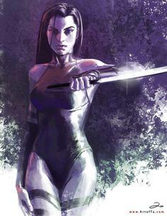 x-men psylocke by artoftu Marvel Universe, Marvel E Dc, Marvel Girls, Dc Comics, Anime Comics, Comic Book Characters, Marvel Characters, Comic Books Art, Comic Art