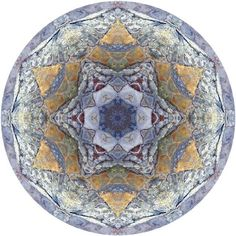 Mandala Art - Fine Art Nature Mandala Print by Allison Trentelman.