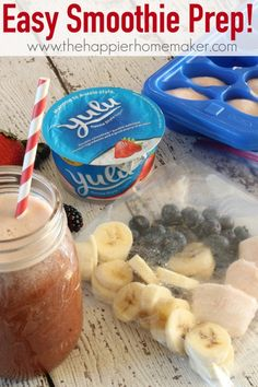 I love having smoothies for breakfast or snacks-they are easy to make and an easy way to enjoy my...
