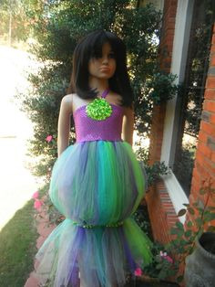 custom designed halloween little mermaid dress by Rememberiloveyou, $25.00