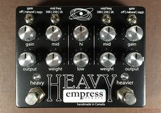 empress effects Heavy pedal