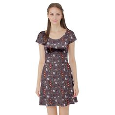 HARRY POTTER INSPIRED DRESS Cute Hogwarts Gryffindor NEW XS S M L XL PLUS SIZE | Clothing, Shoes & Accessories, Women's Clothing, Dresses | eBay!