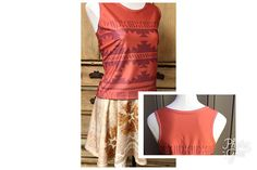 Moana medium running skirt tank outfit disney premium spandex