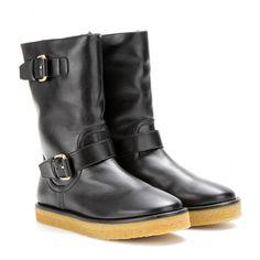 Stella McCartney - Harper faux leather boots - mytheresa.com GmbH