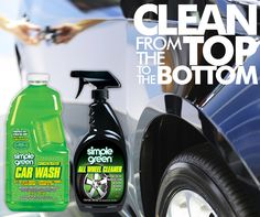 Free All-Wheel Cleaner with the purchase of #SimpleGreen Car Wash at http://buy.simplegreen.com/vehicle-car-wash-67-oz. Now through 9/2/14.